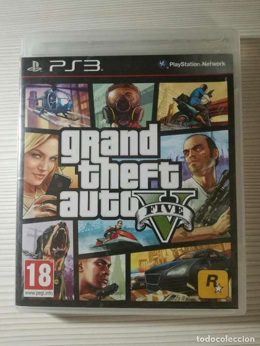 GTA V GTA 5 Para PS3 Play Station 3 Original con mapa
