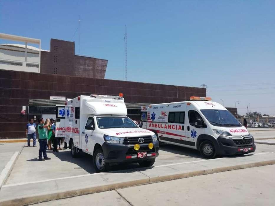 Ambulancias en Piura.
