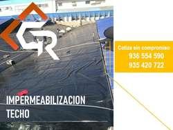 IMPERMEABILIZACION DE TECHOS Y AZOTEAS CON GEOMEMBRANA HDPE Y PVC , TENEMOS LA SOLUCIÓN PARA TU PROYECTO 935420722