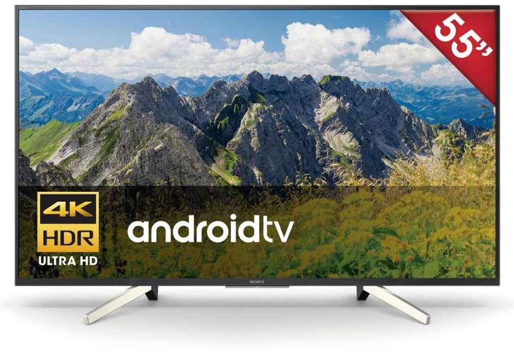 SMART TV LED 4K ULTRA HD SONY de 55 pulgadas con ANDROID 16GB, NUEVO en TIENDA