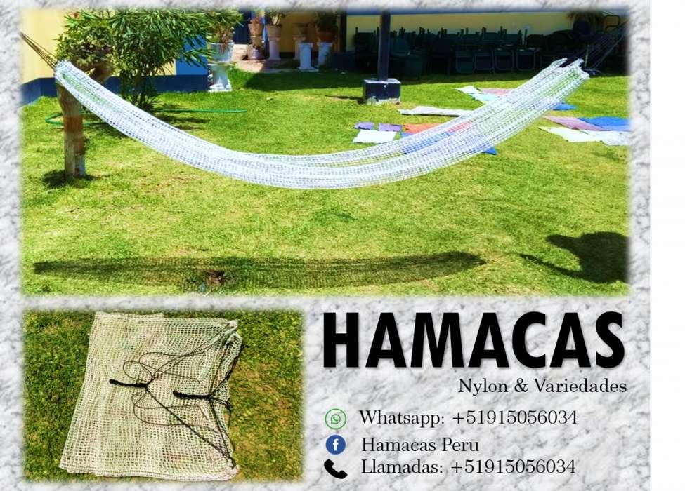 HAMACAS DE NYLON