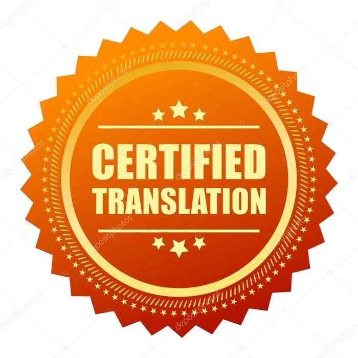Traductor oficial de español e inglés