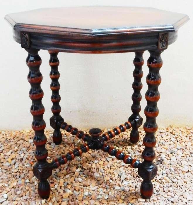 El Restaurador Antigua <strong>mesa</strong> De Sala Española estilo Jacobino