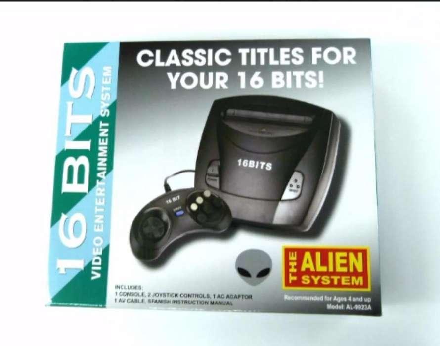 Sega Génesis Nuevo con 110 Juegos