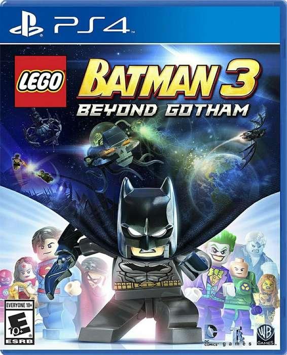 Batman Lego 3 Ps4 Fisico