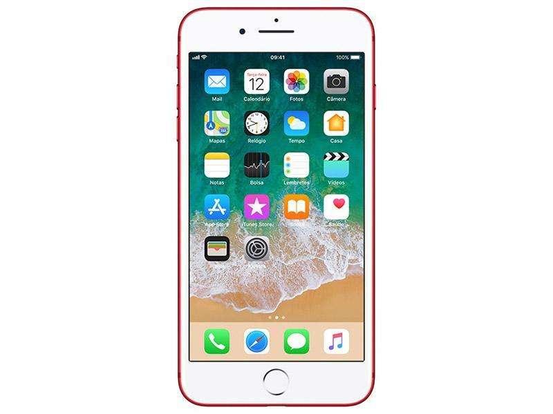 iPhone 7 de 32 GB color rojo - estado 10 de 10, poco uso - libre - garantizado