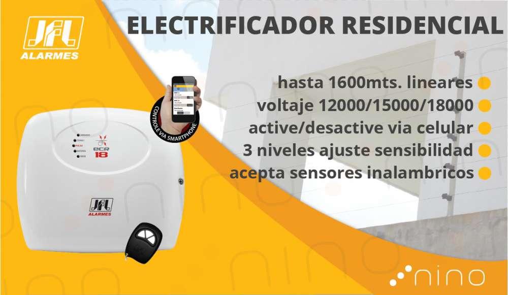 Electrificador RESIDENCIAL para cerca