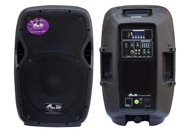 Bafle Potenciado 12 400w Gbr 1240 Pro Mp3 Activo Oferta !!!