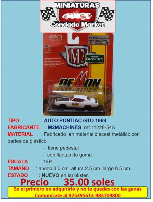AUTO PONTIAC GTO 1969