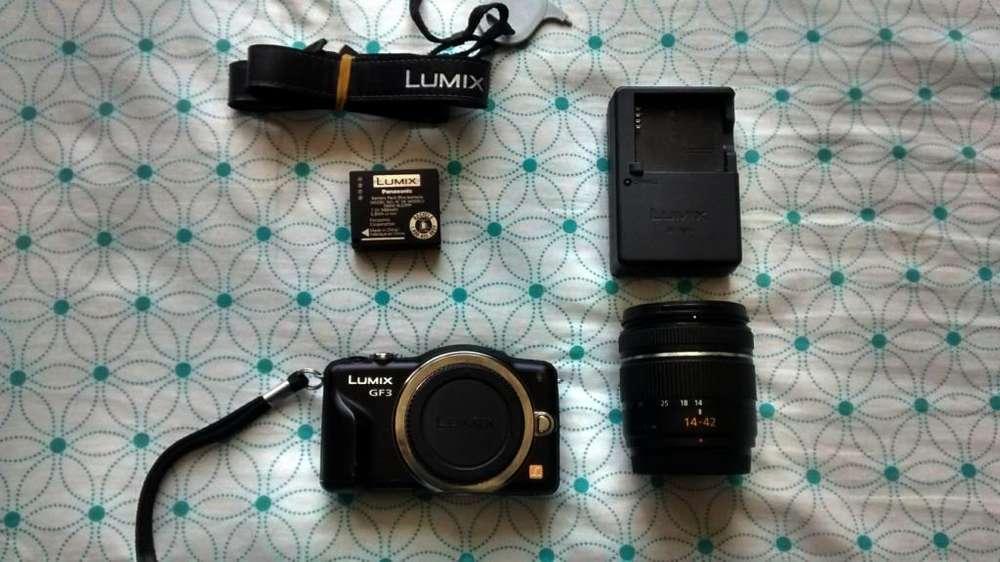 Panasonic Lumix DMC-GF3 Mirrorless Micro 3/4