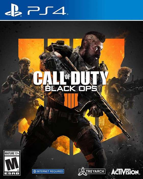 Call of Duty Black Ops 4 PS4 Fisico Nuevo