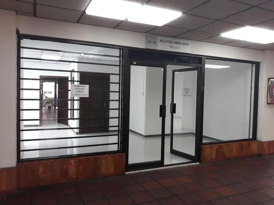 Arriendo Lujosa Oficina CENTRO DE IBARRA