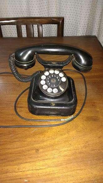TELEFONO ANTIGUO NEGRO SIEMMENS SANO