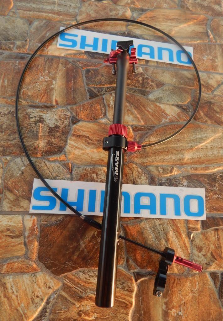 Pilar Aluminio 27.2 Regulable Al Timón Tmars