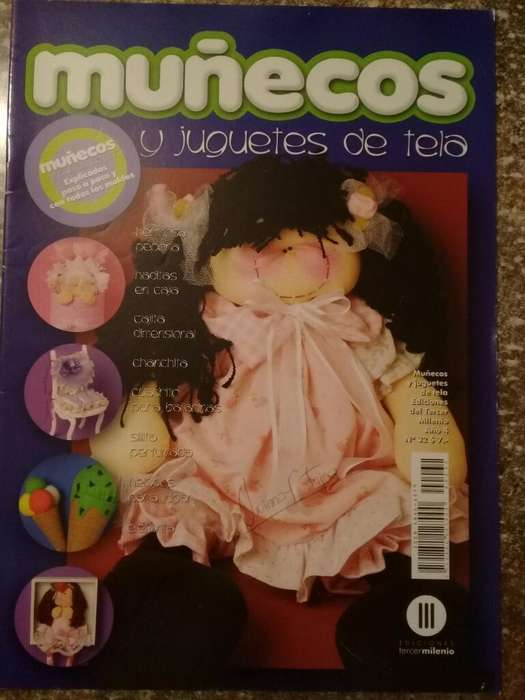 Muñecos Y Juguetes de Tela Año 3 N32