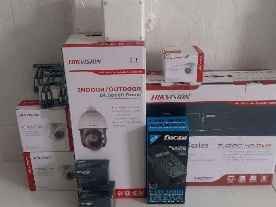 sistemas de seguridad HIKVISION 1080P