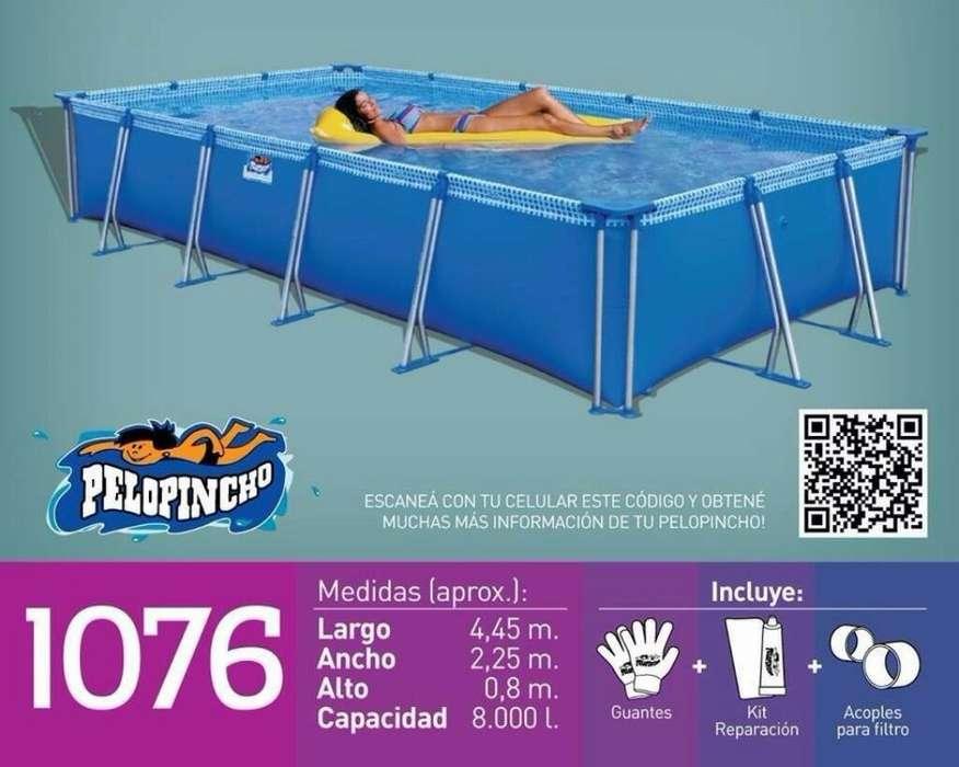 Pelopincho 1076 Cubre Y Bomba Filtro