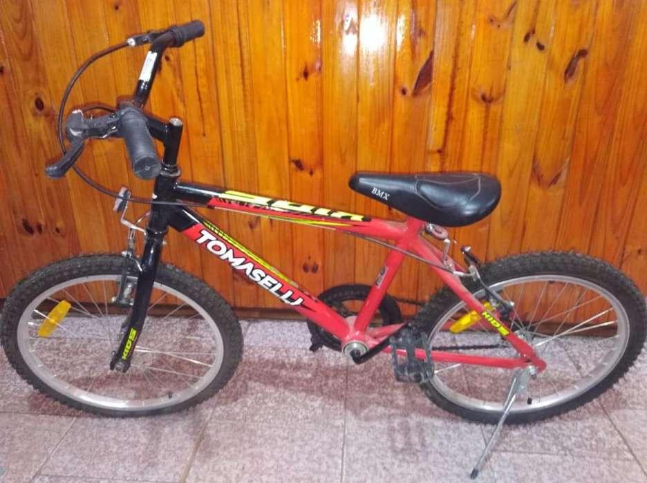 Bici Rod 20 Tomaselli Nueva