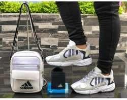 Tenis, Bolso Y Billetera Adidas