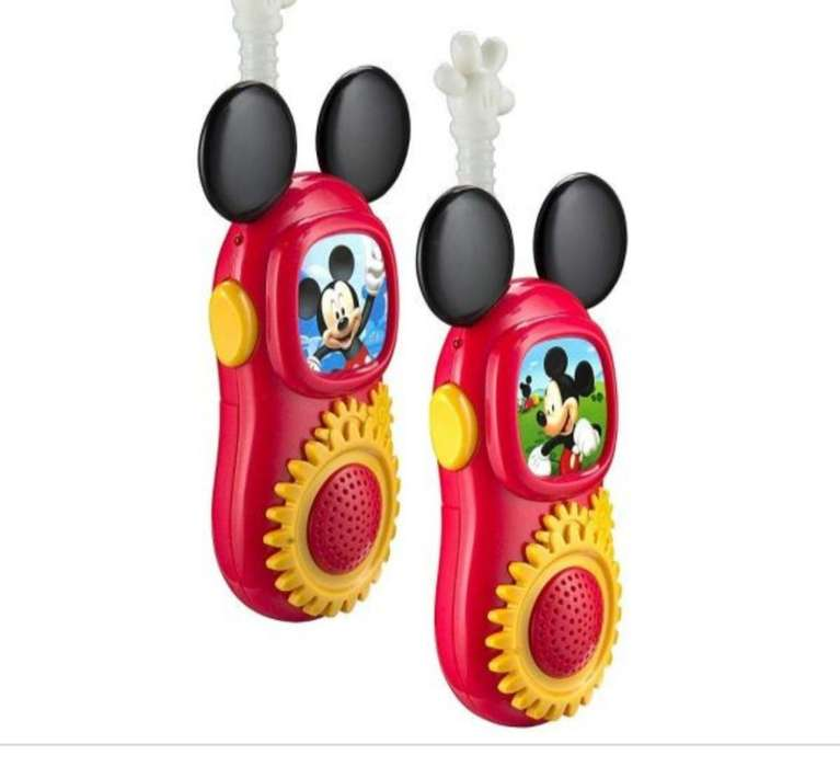 Walkie Talkies Mickey Mouse