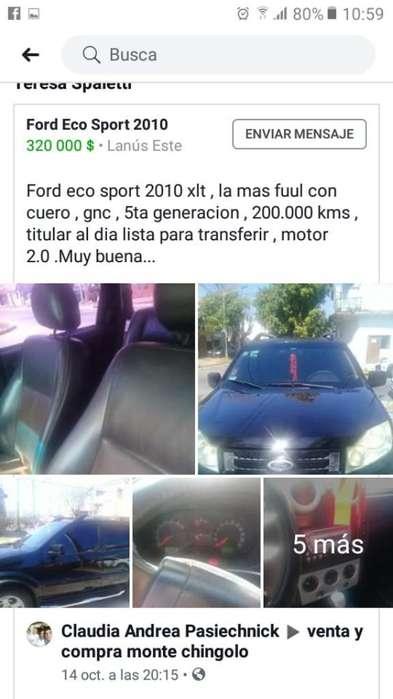 Ford Ecosport 2010 - 200000 km