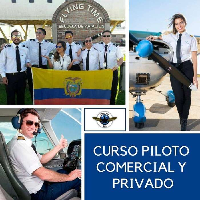 Escuela Flying Time Se Piloto Comercial