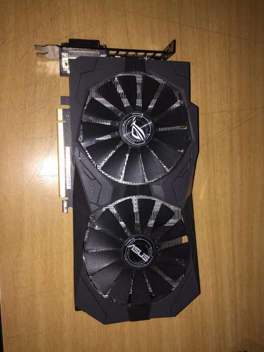 Tarjeta Grafica Asus ROG Strix OC Nvidia GTX 1050 TI 4GB