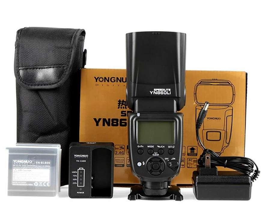Yongnuo Yn860li Flash Con Batería De Litio De 1800 Mah