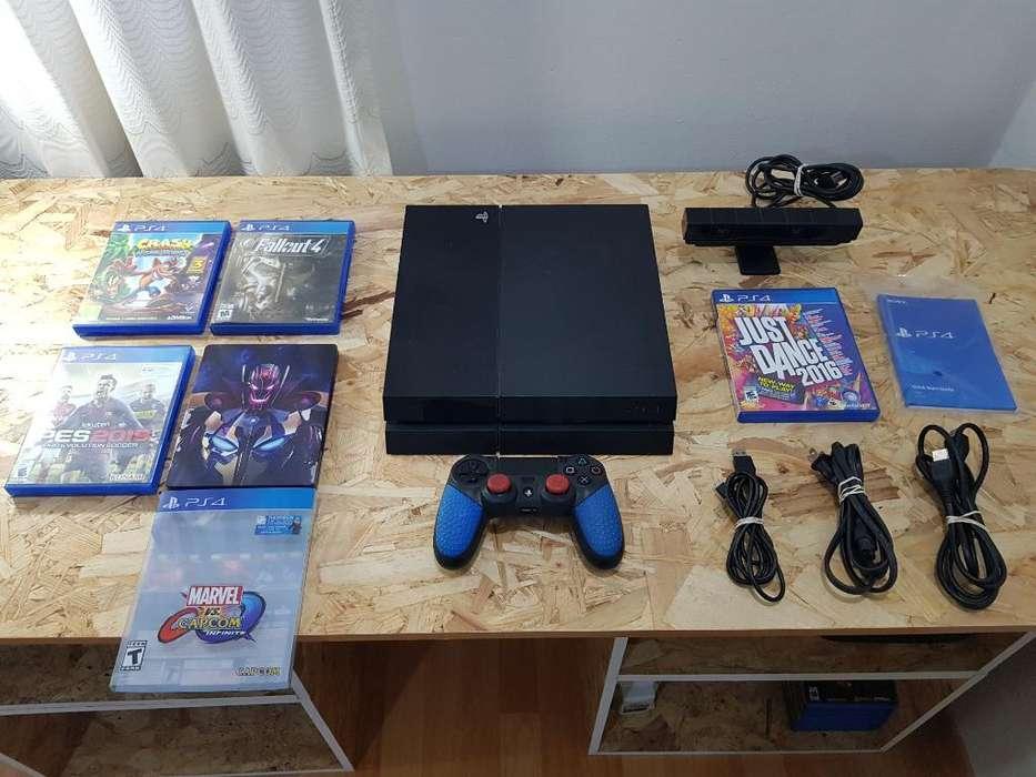 Playstation 4 Ps4 500gb5 Juegos Camara