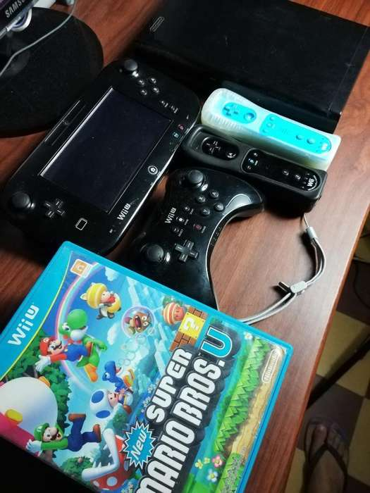 Nintendo Wii U Programado 4 Contr 13 Jue