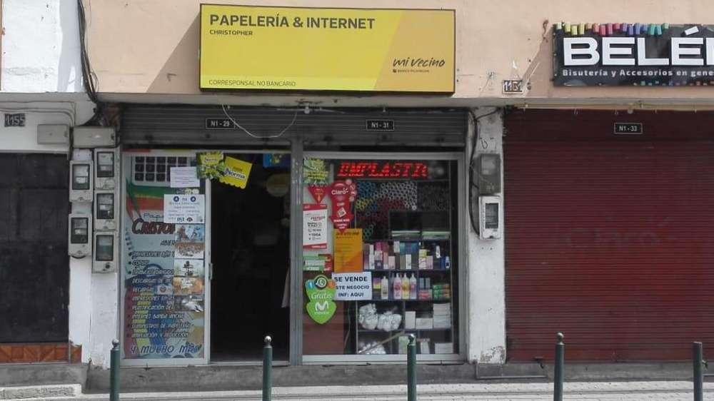 Internet y Papeleria Guayllabamba Parque Central