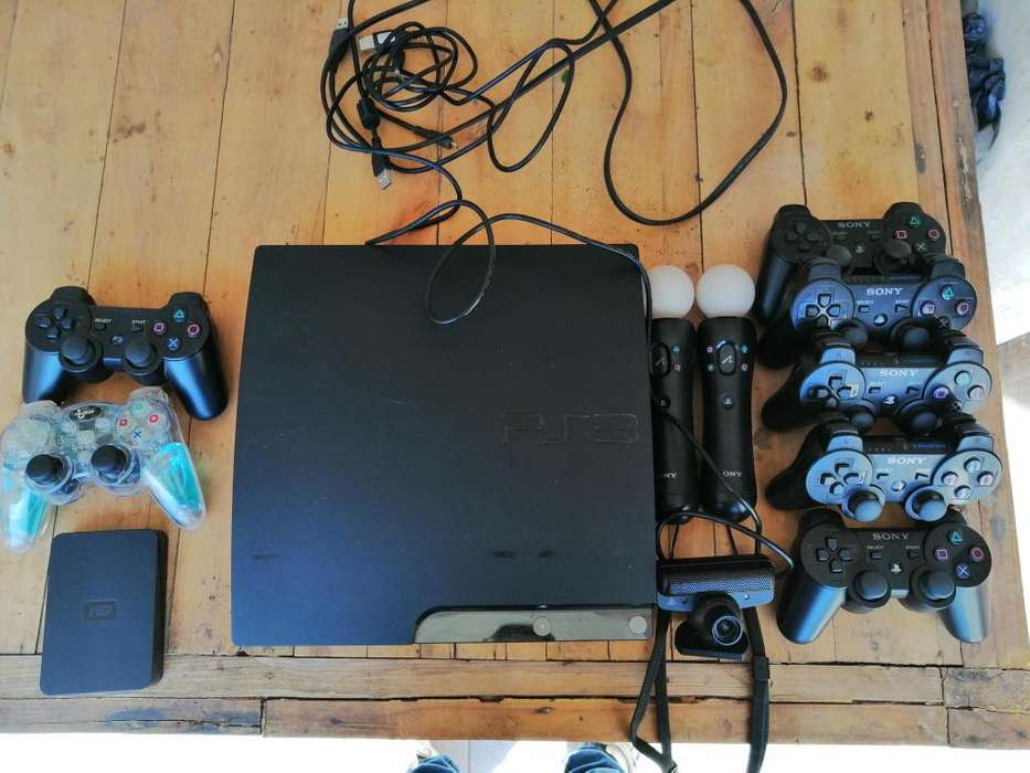 play Station 3 chipeada con <strong>joysticks</strong> y