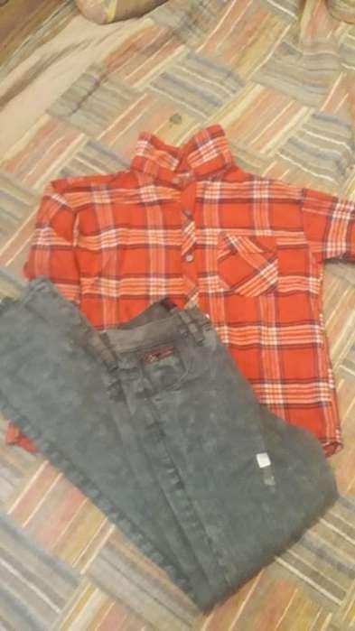 Jeans Niño Nuevo T 12 Camisa