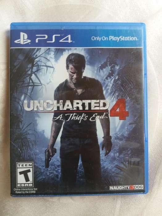 Vendo O Cambio Juego Uncharted 4 Ps4