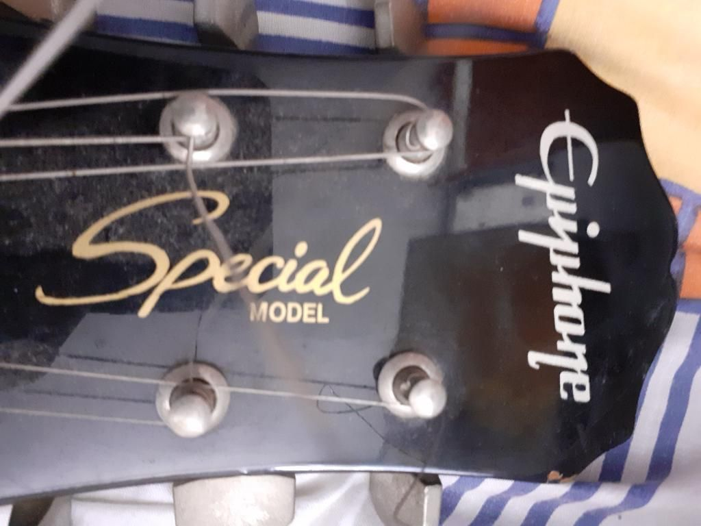 Vengo 2 Guitarras Epiphone Remate
