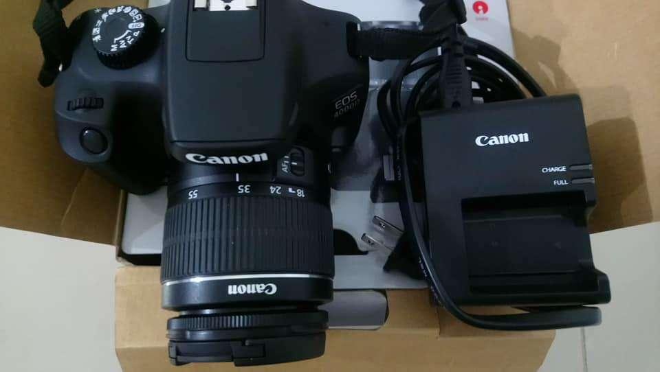 Camara Canon Eos 4000d 18 Megapixeles, Como Nueva