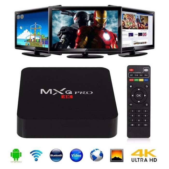 Tv Box Smart Tv 4k Android 6.0 Qcore Hdmi 3d Netflix Youtube
