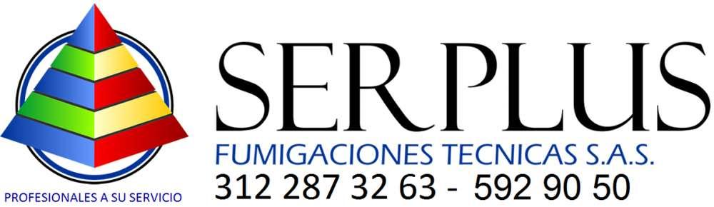 Fumigaciones SERPLUS gratis 312 287 32 63 - 592 90 50.