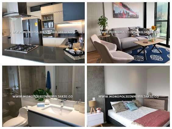 comodos apartamentos amoblados en medellin cod:12886