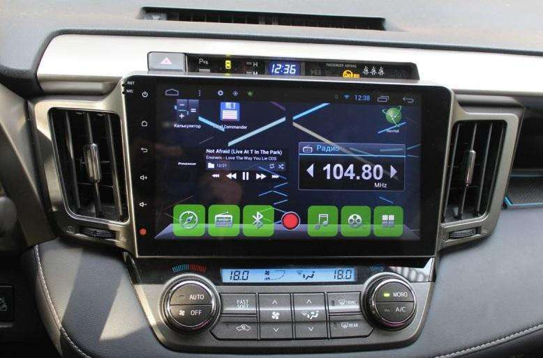 TOYOTA RAV4 ESTEREO CENTRAL MULTIMEDIA STEREO CON ANDROID, GPS, BLUETOOTH
