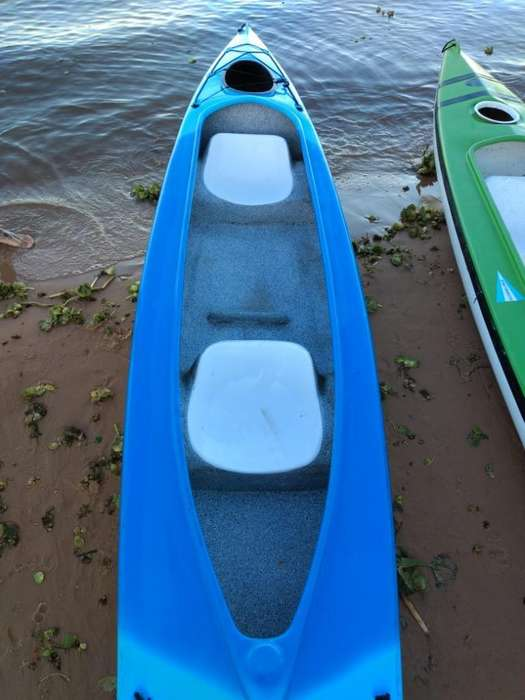 Kayak Doble Baun en Muy Buen Estado!