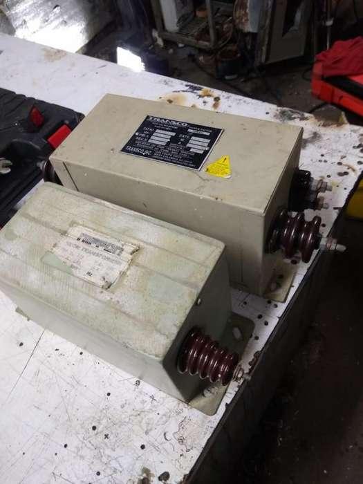 Transformador de 15.000 y 9.000 voltios