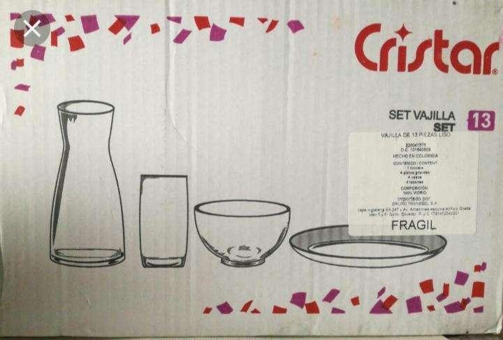 Vajilla Cristal