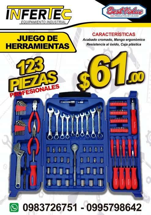 JUEGO DE <strong>herramientas</strong> PROFESIONALES
