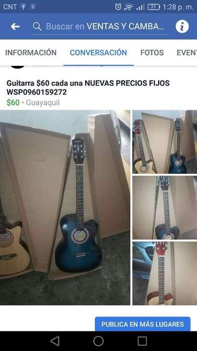 Guitarra Acustica Nueva Precio Fijo con