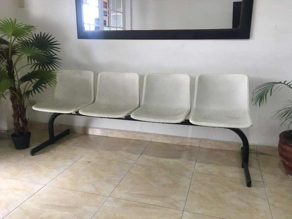 Sala de espera <strong>sillas</strong> tipo Tandem