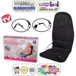 Silla Masajes Tv Portátil Espalda Caliente Carro Casa Nuevas, Originales, Garantizadas.