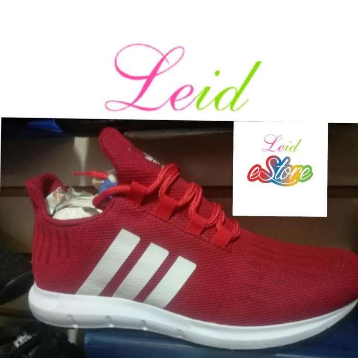 Adidas Rojo Blanco