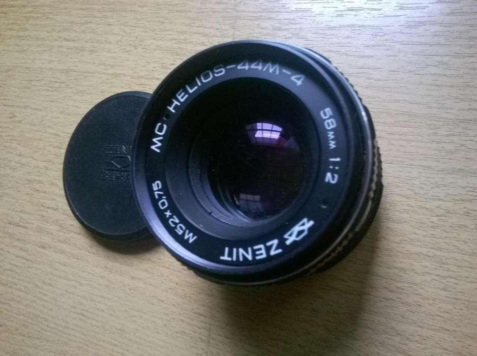 Lente Helios 44M-4 58mm F:2