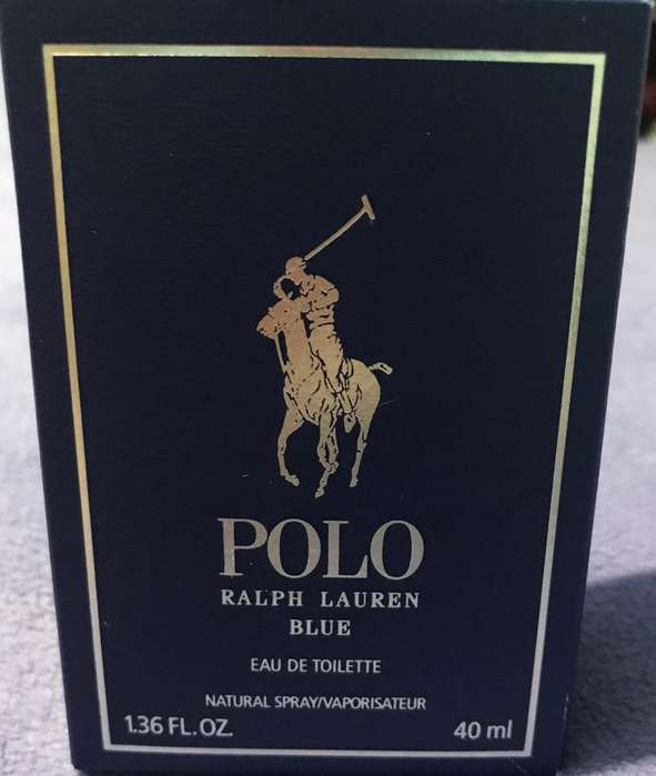 Vendo Polo Blue Nuevo sin Uso 40ml